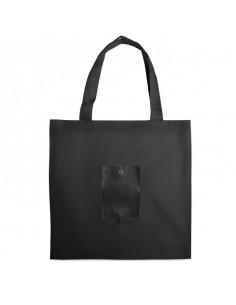 Składana torba na zakupy. Polyester 190T i powłoka z PVC