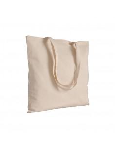 Torba bawełniana na zakupy 135 g/m2 długie uszy naturalna