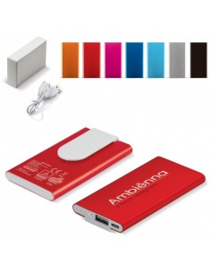 Powerbank Metal Clip TUV GS 3000 mAh Toppoint