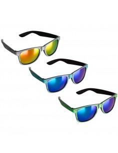 Okulary przeciwsłoneczne imitacja drewna