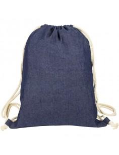 Plecak sznurkowy Denim