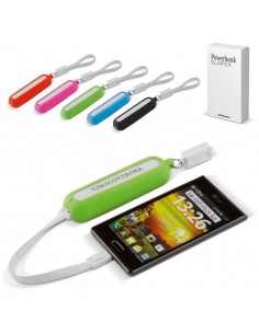 Powerbank Bumper 2200 mAh Toppoint