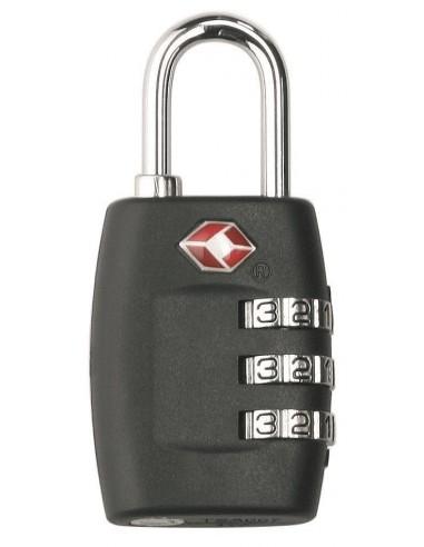 02f635fed1828 Metalowa kłódka z szyfrem TSA Thanxx z własnym nadrukiem