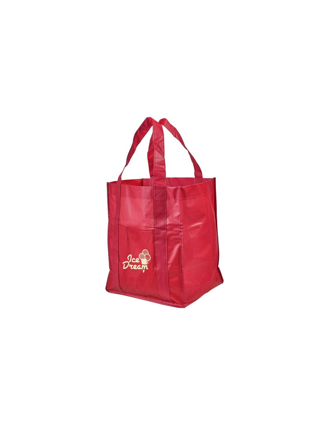 7fc80a42d4698 Laminowana torba na zakupy z non woven Savoy z własnym nadrukiem